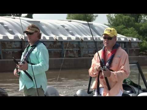 Talkin' Outdoors Mississippi River Catfish 2013