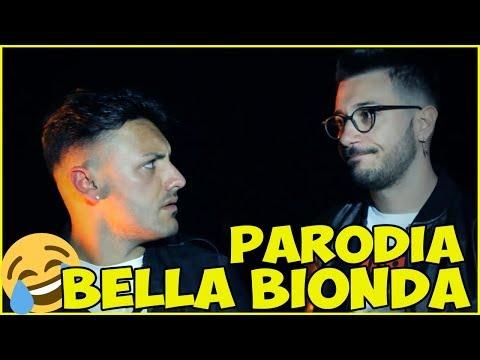 PARODIA ●  Francesco D'Aleo Ft. Daniele De Martino - Bella bionda (Ufficiale 2018)
