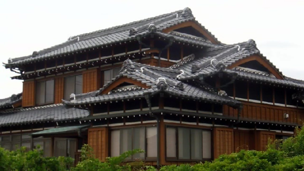 New old japanese houses youtube for Asian houses photos