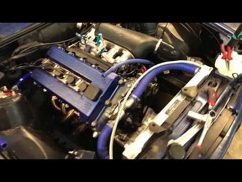 BMW E30 M42 Build RHD ITB kit with carbon airbox