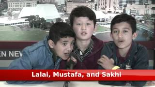 Lalai, Mustafa, and Sakhi - 7 News Experience