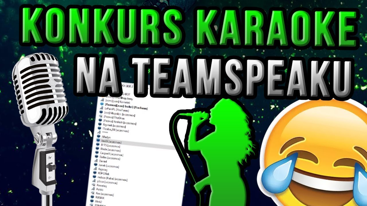 KONKURS KARAOKE NA TEAMSPEAK, BĘDĘ NA MEETUP – Shoty z live #4