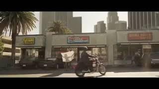 Captain Marvel Deleted Scene | Bike Scene | Carol Takes Riders Bike Jacket & Helmet
