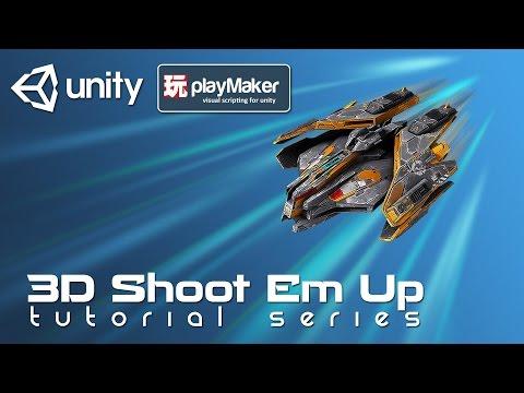 3D SHMUP - Part 06 Enemy Variation | Unity & Playmaker Tutorial