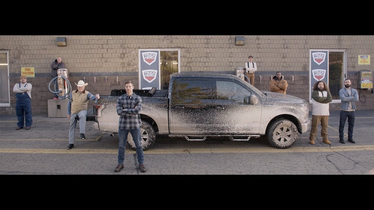 Truck Hero at the Car Wash – Powerfully Protective Truck Bed Covers