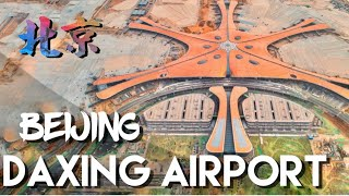 Beijing Daxing Airport the biggest single terminal in the world It is also the most beautiful