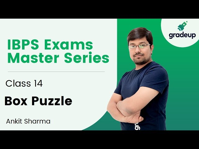 Box Puzzle by Ankit Sharma | IBPS Exams Master Series