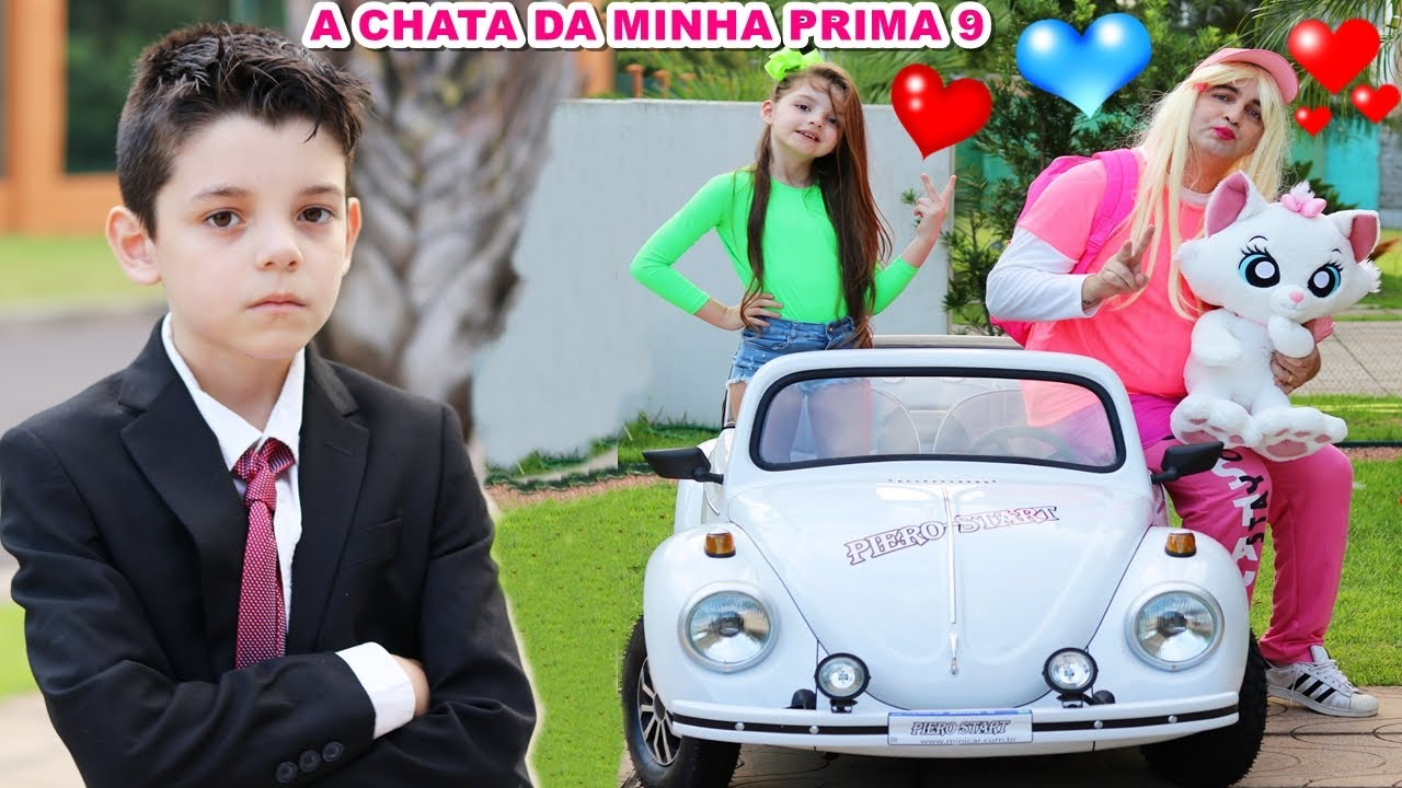 A CHATA DA MINHA PRIMA - 9