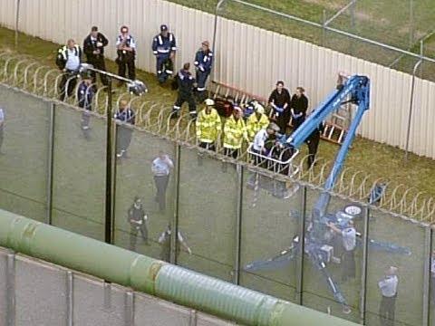 Prisoner Scales Razor Wire Fence In Attempt To Escape Silverwater