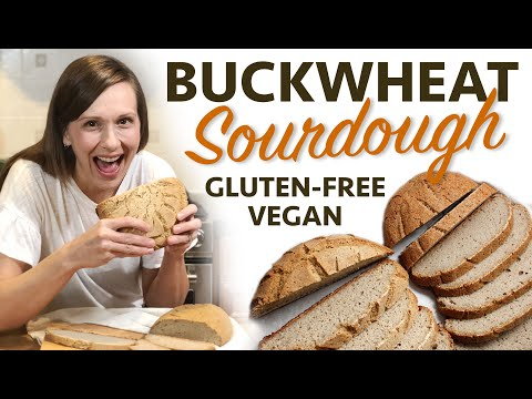 BUCKWHEAT SOURDOUGH LOAF (Gluten-Free Vegan) PART 1