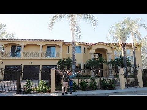 EXCLUSIVE TOUR OF THE NEW ACE FAMILY HOUSE!!!