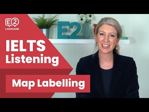 IELTS Listening Map Labelling with Alex Mp3