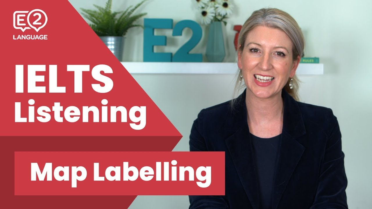 IELTS Listening Map Labelling #E2Tasks with Alex - YouTube
