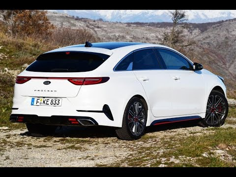 2019 kia proceed gt the shooting brake you can afford youtube. Black Bedroom Furniture Sets. Home Design Ideas