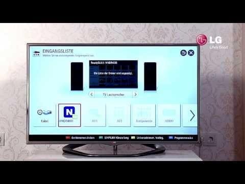 LG LED Smart TV - 5 Bedienung Des TVs