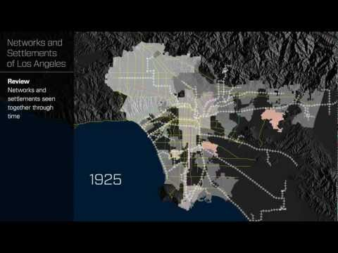 Networks and Settlements of Los Angeles