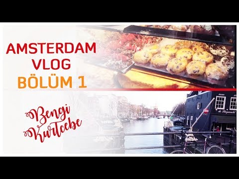 Gezilecek Yerler, Laleler ve Esrarengiz Lezzetler | Bengi Geziyor - Amsterdam Vlogu 1.Bölüm
