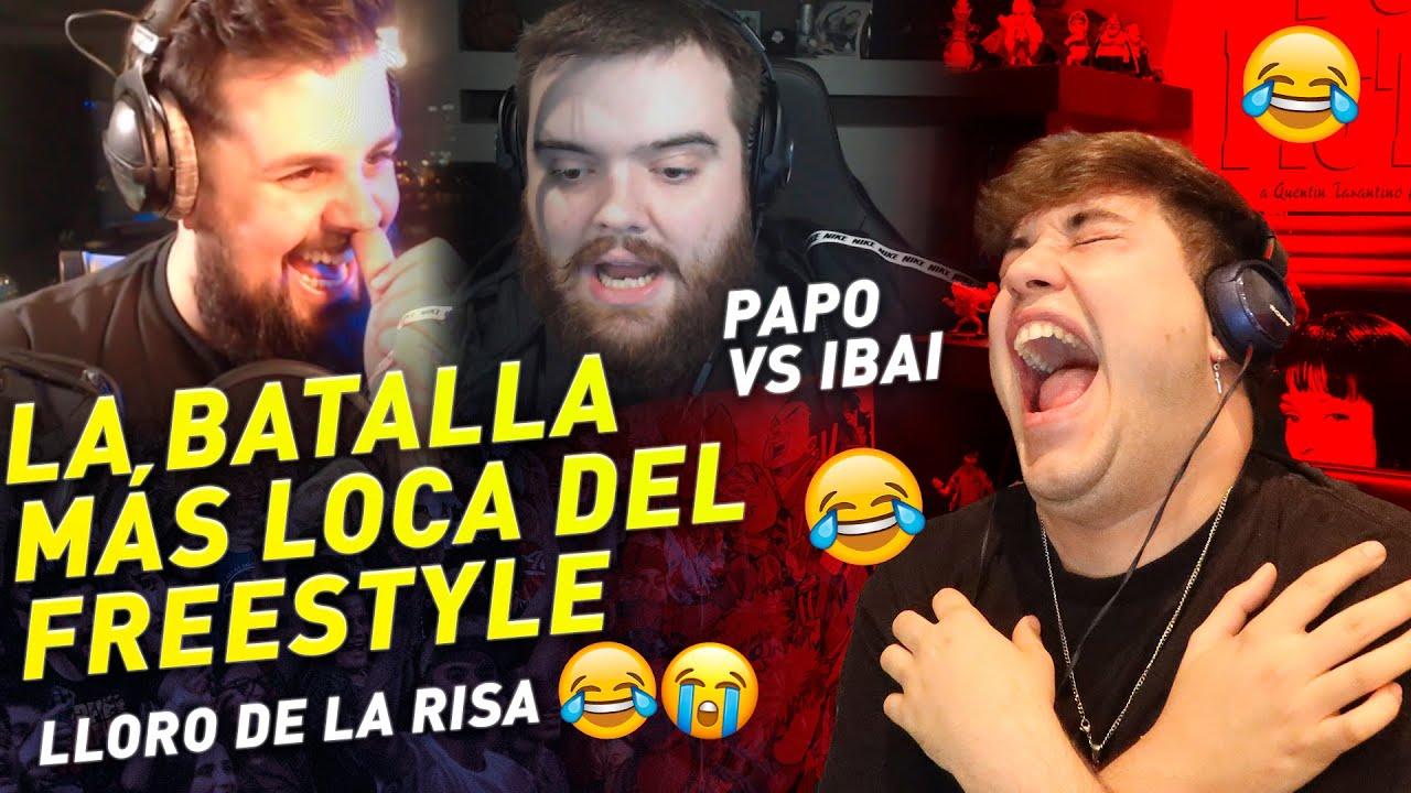 IBAI VS PAPO - REACCIONO A LA BATALLA MÁS ÉPICA DEL AÑO *Lloro d la risa 😂😂
