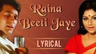 Raina Beeti Jaye Instrumental Song || BEST INSTRUMENTAL SONG||