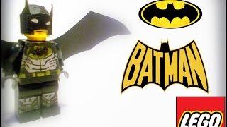 Как сделать LEGO Бэтмена своими руками. (Видео не поддерживает планшеты и смартфоны)