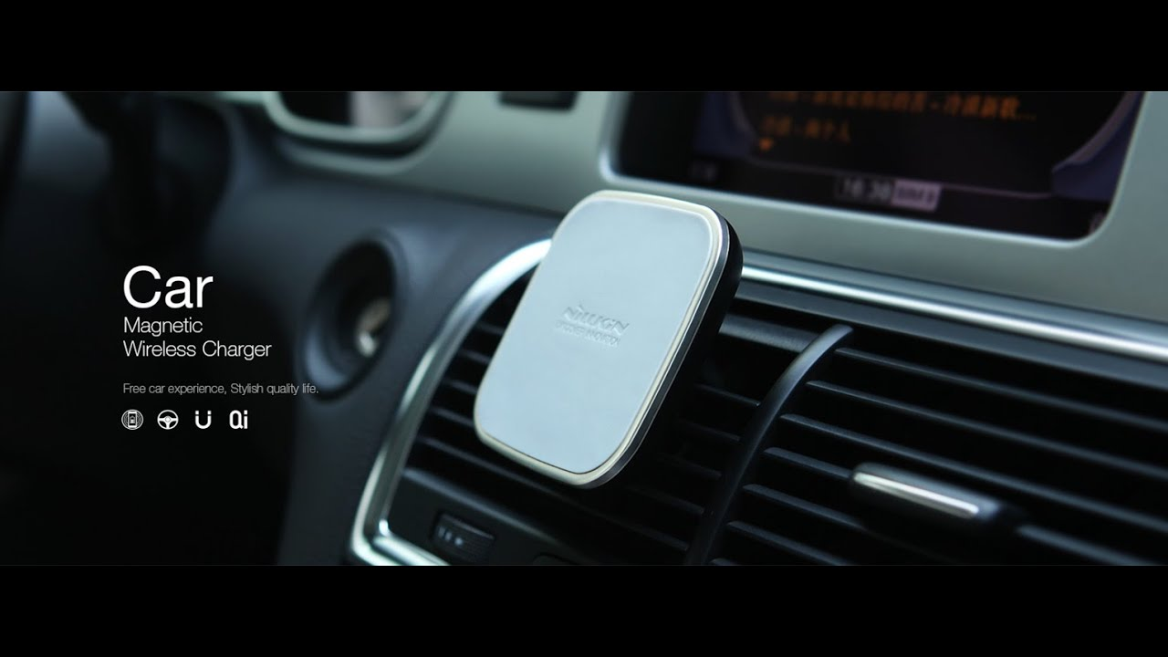 nillkin car magnetic wireless charger youtube. Black Bedroom Furniture Sets. Home Design Ideas