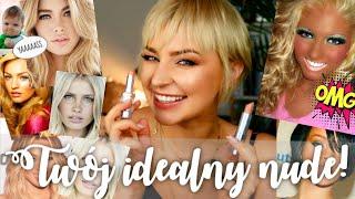 NUDZIAKOWE POMADKI - jak dobrać TWÓJ IDEALNY kolor szminki? Allegro x ThePinkRook