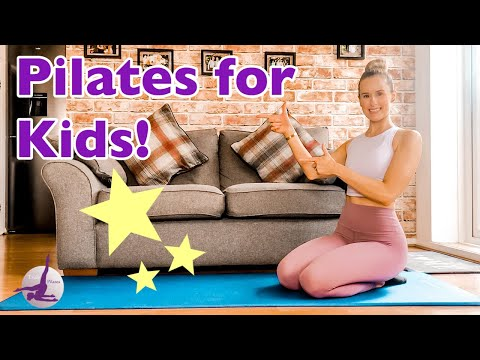 PILATES FOR KIDS! | Ages 4-9 | Pilates for Children
