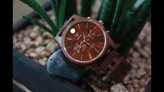 보우드 데스티니 나무손목시계