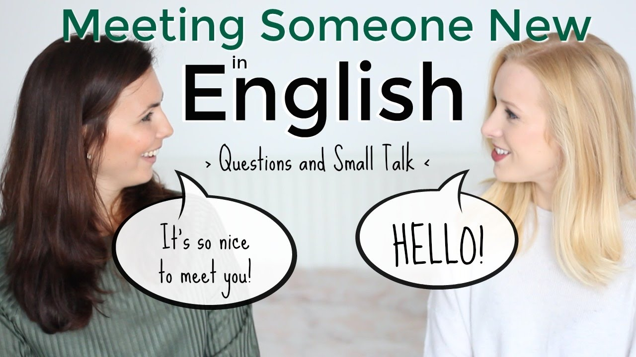 how to talk with guest in english