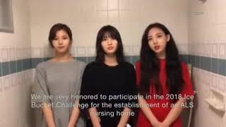 Twice | Ice Bucket Challenge 2018(Eng Sub)