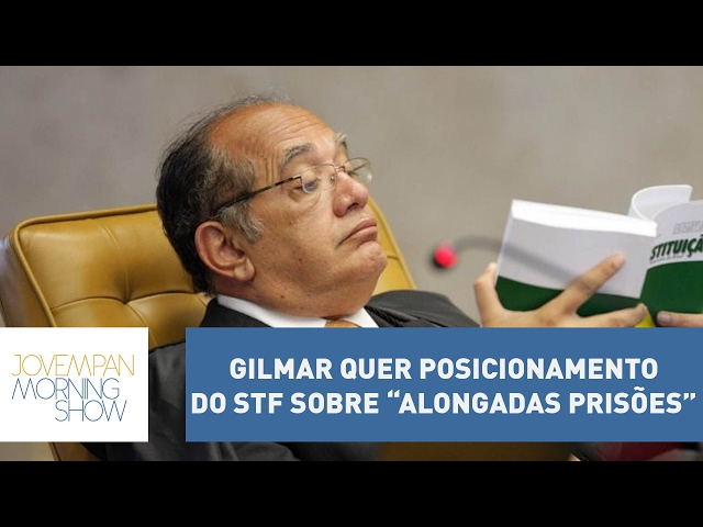 """Gilmar Mendes quer posicionamento do STF sobre """"alongadas prisões"""" determinadas em Curitiba"""