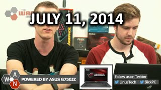 The WAN Show: New Windows 9 DRM Rumours & Potato Salad - July 11th, 2014