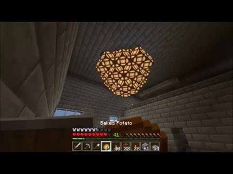 Building A Chandelier In Minecraft, How To Make A Simple Chandelier In Minecraft Pe
