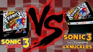 Sonic the Hedgehog 3 vs. Sonic 3 & Knuckles