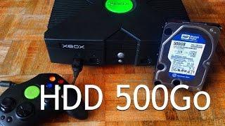 Nouveau disque dur XBOX 500 Go sans puce (Chimp/LPartx)