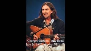 George Harrison -  Any Road - live 1997
