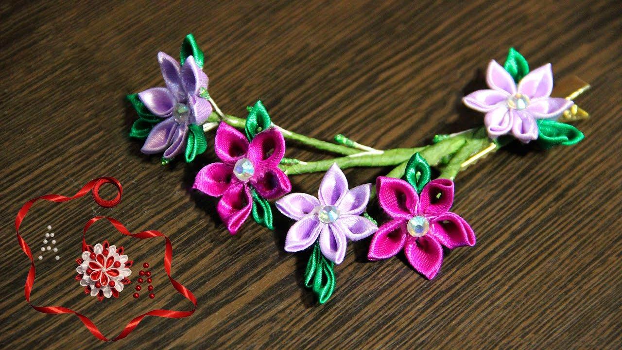 канзаши весенние цветы фото чего все