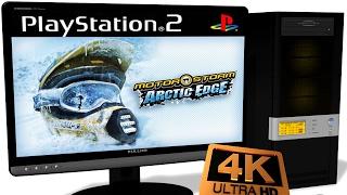 PCSX2 1.5.0 PS2 Emulator - MotorStorm: Arctic Edge (2009). 4K Ingame. DX11. Test #1