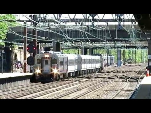 NJT #3838 ride from Trenton To Newark Penn Station