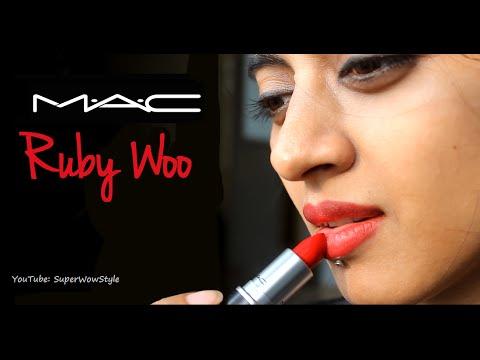 MAC Ruby Woo Lipstick ♥ My Favourites ♥ Series | SuperWowStyle