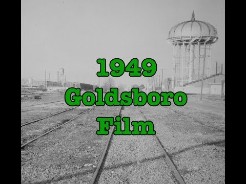 1949 Goldsboro Promotional Film - Wayne County, North Carolina