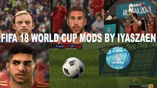 BIGPATCH 5 WORLD CUP MODS --- NEW BALL --- NEW FACES -- NEW ADBOARDS -- NEW SCOREBOARDS-BY IYASZAEN