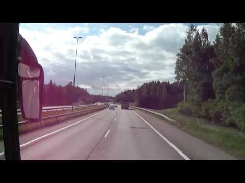 Drive through Finland Capital: Helsinki and its country side