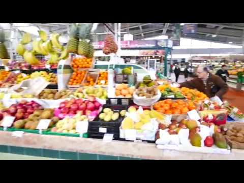POV Walk Through Mercado de Alvalade - Classic Market In Lisbon