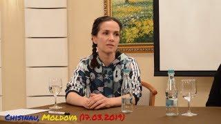 Фан-встреча с Наталией Орейро в Кишинёве 17.03.2019