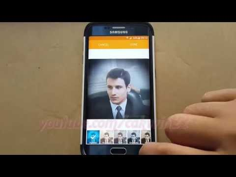 Android : How to add photo to contact in Samsung Galaxy S6