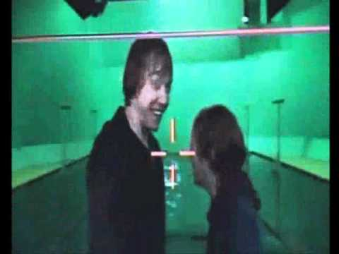 Ron and Hermione TRYING to film the Kissing scene in ...