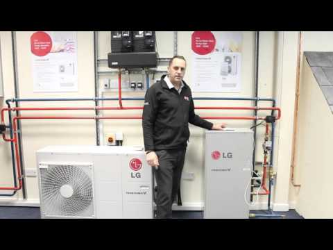 LG High Temperature Air Source Heat Pump Video