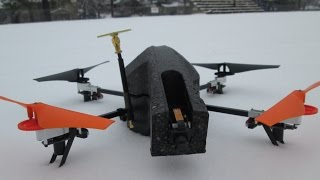 Antennae Mod Range Tests - Extended Wifi Signal - AR Drone 2.0 Episode 42 HD