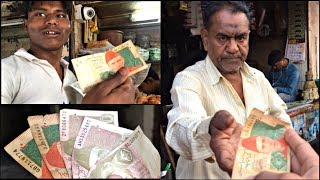 Giving Pakistani Note to Indian Sabziwala (Very Angry Reaction)